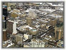 C2-09-7925-Aerial-View-Winnipeg-Downtown-Looking-North-East-Over-Broadway