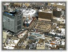 C2-09-7936-Aerial-View-Winnipeg-Downtown-Looking-North-East-Manitoba-Hydro-Bldg-City-Place
