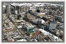 C2-09-7950C-Aerial-View-Winnipeg-Downtown-Looking--East-Over-Portage-Ave