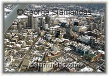 C2-09-7957C-Aerial-View-Winnipeg-Downtown-Looking--East-Over-Portage-Ave